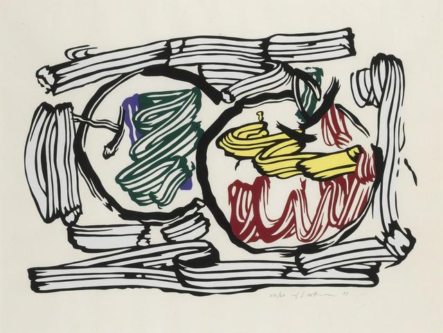 Roy Lichtenstein, 'Two Apples', 1983, Carolina Nitsch Contemporary Art