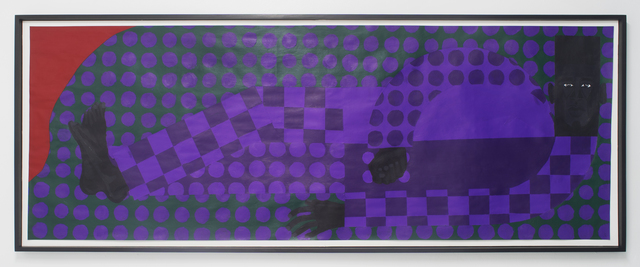 , 'Man in the Violet Dreamscape No. 3 (Man in the Violet Suit No. 10 (Green) ),' 2018, Rubber Factory