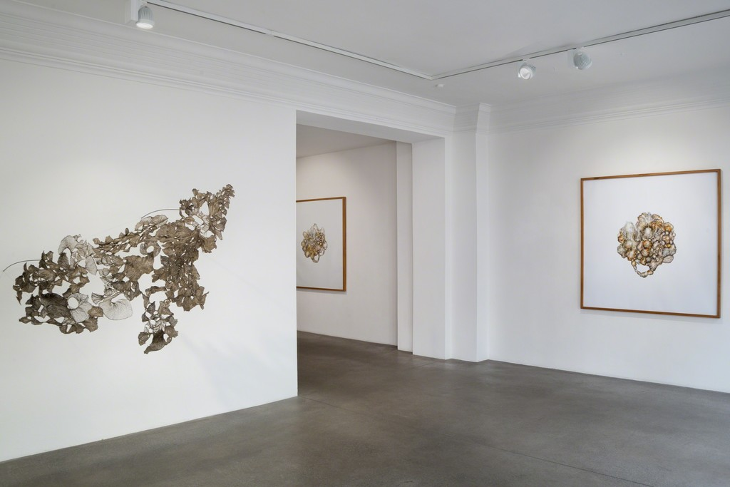 Installation view, Viktoria Strecker, Aorist, Engelage & Lieder, 2018