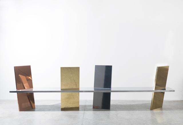 , 'Freeze Bench,' 2015, Friedman Benda