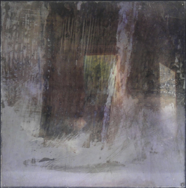 Dorothy Simpson Krause, 'Fragments Vaulted', 2010, Photography, Lenticular print with encaustic, 571 Projects