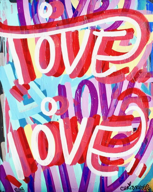 , 'Love Canvas 7,' 2018, Open Mind Art Space