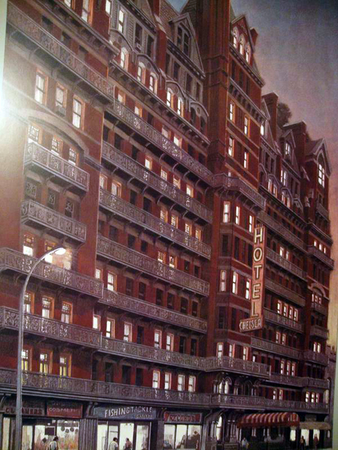 Richard Haas, 'Chelsea Hotel, Sunset ', 1980, Alpha 137 Gallery
