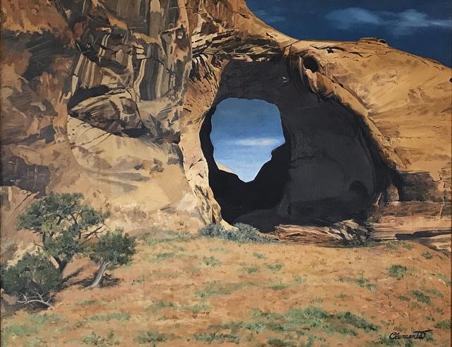 , 'Portal at Window Rock,' ca. 2019, {9} The Gallery