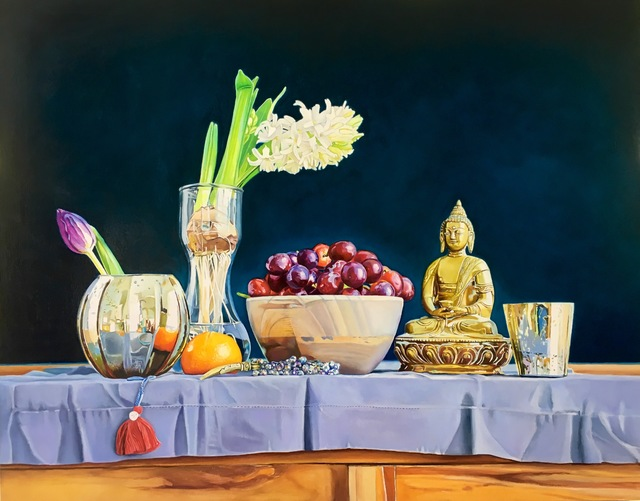 Megan Eisenberg, 'Still Life With Buddha', 2018, Gildea Gallery