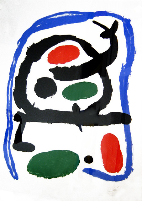 Joan Miró, 'Musée National d'Art Moderne', 1962, Galerie Michaela Stock
