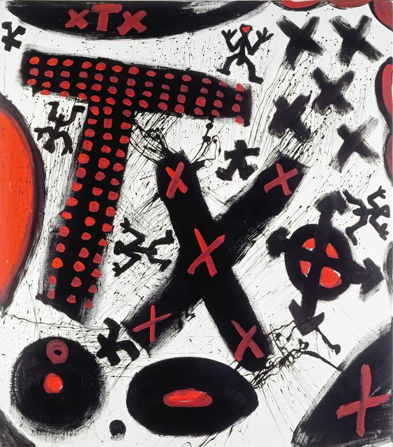 , 'Der Raumfahrer (Praxis),' 1991, Galerie Michael Haas