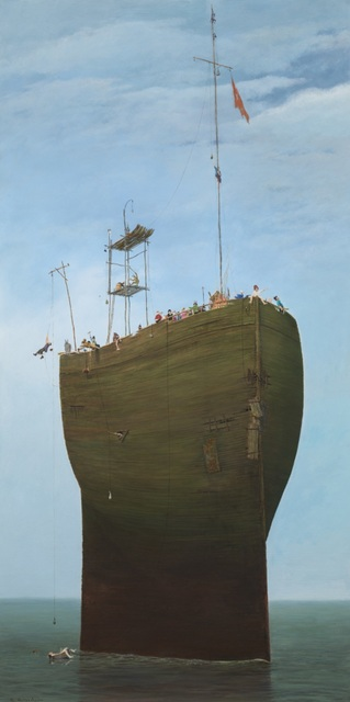 Cyril Croucher, 'Ship of Fools', 2018, Wren Fine Art
