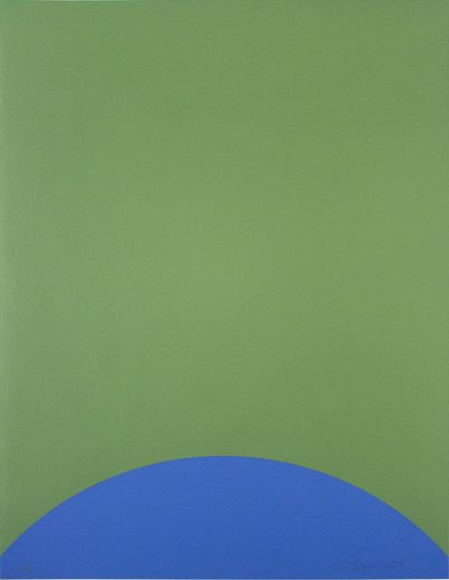 Leon Polk Smith, 'UNTITLED (TAMARIND H)', 1968, Lora Reynolds Gallery