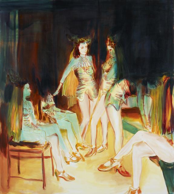 , 'Dancers,' 2018, bo.lee gallery