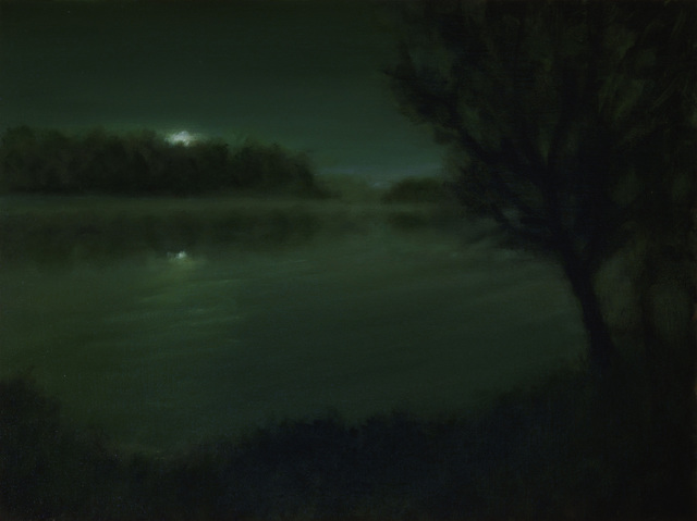 , 'Night Lake,' 2018, Sullivan Goss