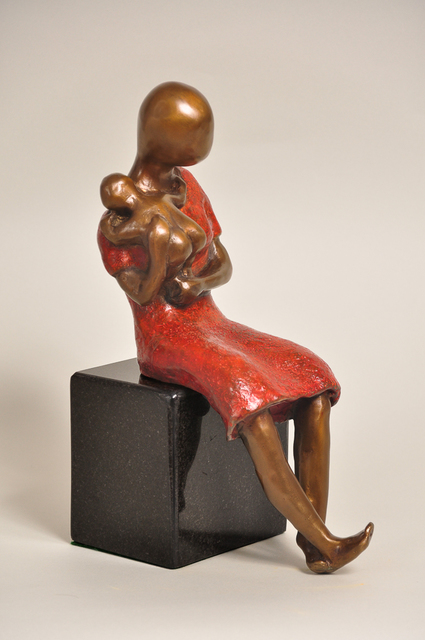 , 'Mother in Red Dress,' 2007, Rimonim Art Gallery