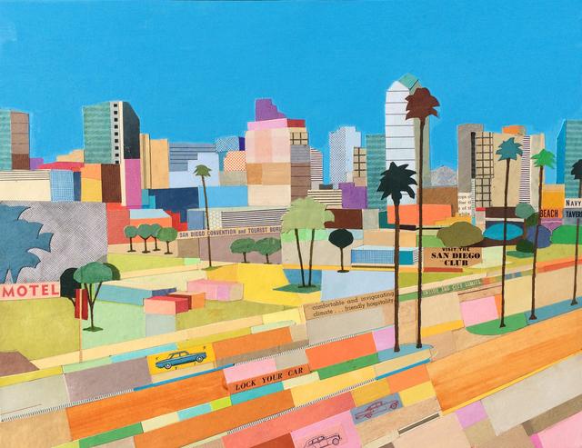 , 'Visit San Diego,' 2012, Sue Greenwood Fine Art