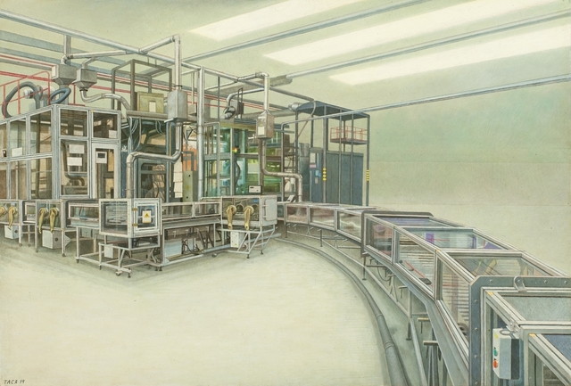 , 'Fuel Tablets Production,' 2014, NK Gallery