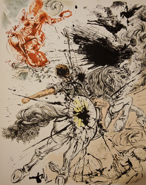 Salvador Dalí, 'Don Quixote - Appearance Of Dulcinee', 1957, Dali Paris