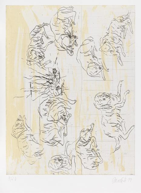""", 'Schlafende Hunde II, from """"Schafende Hunde"""",' 1998-1999, Gagosian"""