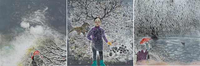 Shen Ling, 'Autumnal Wind and Rain on a Moody Day', 2016, Tang Contemporary Art