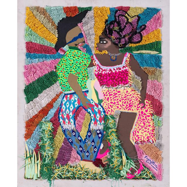 Franklin Mbungu Wabonga, 'Danseurs', 2016, PIASA