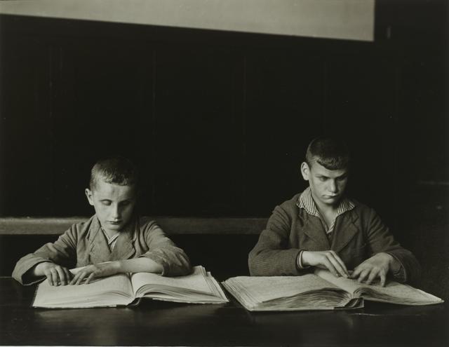 , 'Blind Children,' ca. 1930, Galerie Julian Sander