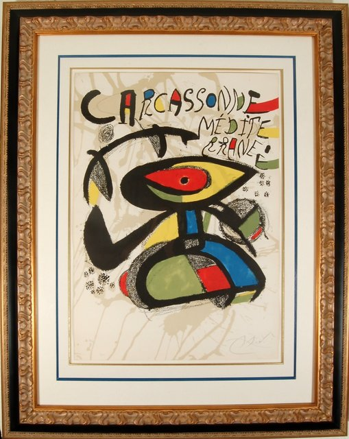 Joan Miró, 'Carcassone Mediterranee', 1980, Joseph Grossman Fine Art Gallery