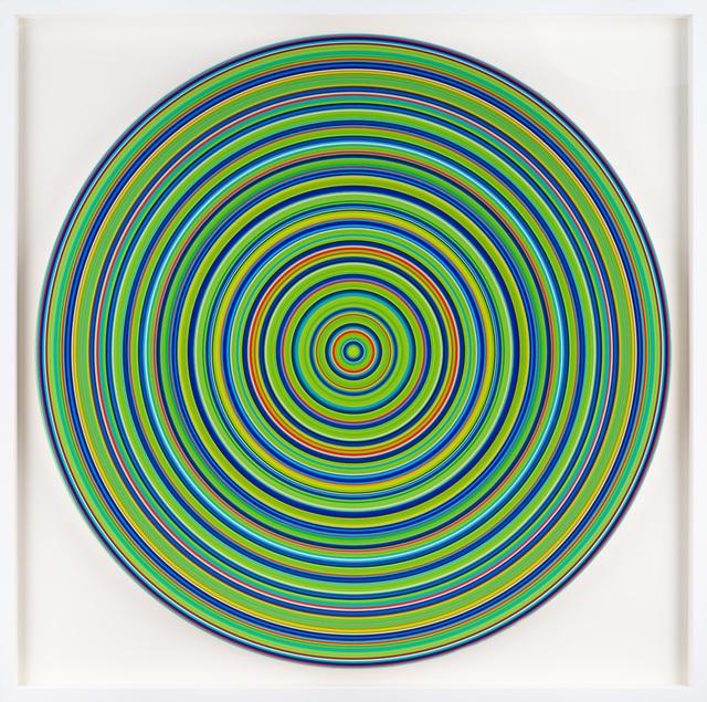 , 'Green Op Target,' , Merritt Gallery