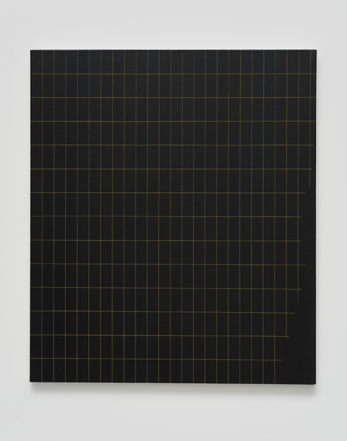 , 'Untitled (grid with bottom side trim),' 2017, Casa Triângulo