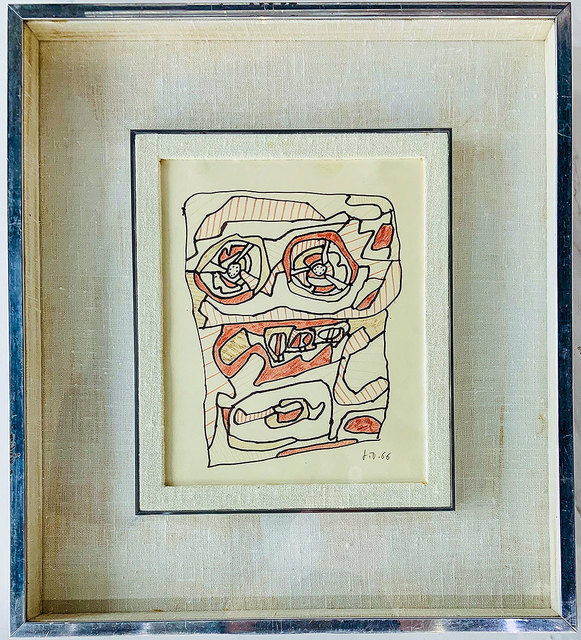 Jean Dubuffet, 'Untitled', 1966, Robert Fontaine Gallery