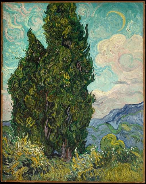 Vincent van Gogh, 'Cypresses', 1889, The Metropolitan Museum of Art
