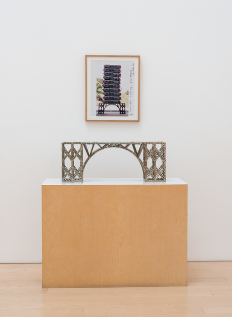 Chris Burden, '1/4 Ton Bridge (Bridge + Static Test Photo)', 1997-2000, Gagosian