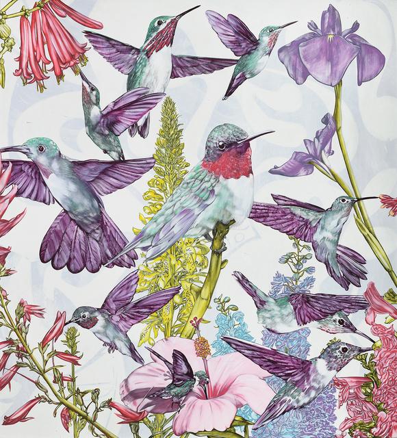 , 'Harmonious Convergence,' 2017, Brintz Gallery