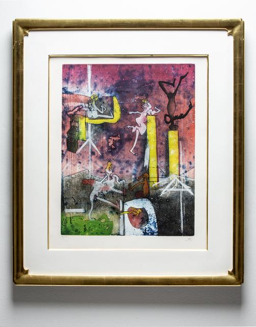 Roberto Matta, 'Composition', 1979, Print, Aquatint printed in color, Wexler Gallery