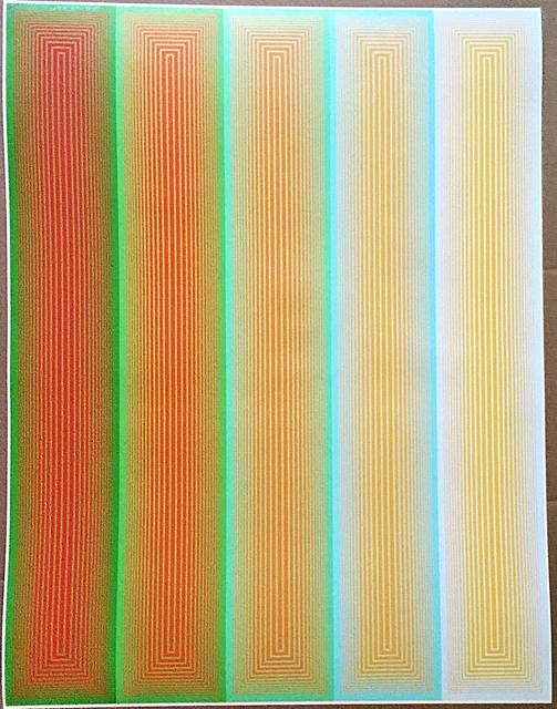 Richard Anuszkiewicz, 'Grandeur (from Inward Eye Series)', 1970, Print, Silkscreen, Alpha 137 Gallery