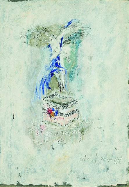 SRĐAN VUKČEVIĆ, 'Angel with Blue Wings', 1989, Museum of Modern Art Dubrovnik