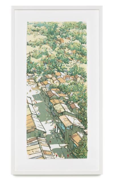 , 'Panorama Ubin (Changing Times: Main street, Ubin series),' 2004, STPI