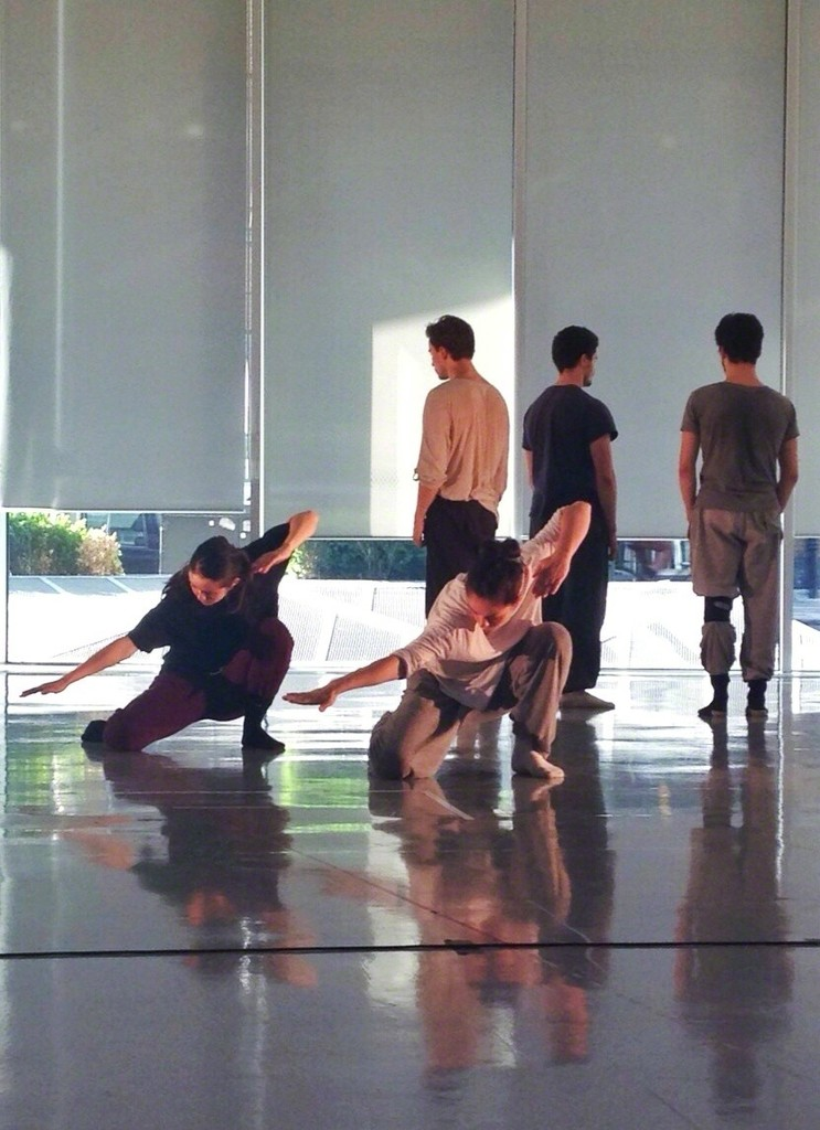 Shechter Junior, Rehearsal for the site specific performance at Collezione Maramotti. Ph. Lee Bamford