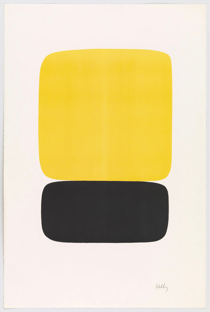 , 'Yellow over Black (Jaune sur noir) from Suite of Twenty-Seven Color Lithographs,' 1964, Robert Fontaine Gallery