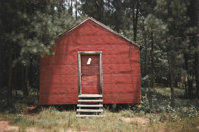 William Christenberry, 'Red Building in Forest, Hale County, Alabama', 1974, Pace/MacGill Gallery