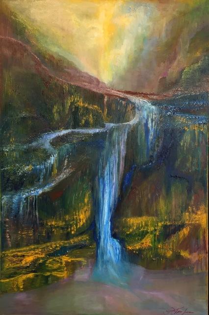 , 'Water Flow,' 2016, Bowersock Gallery