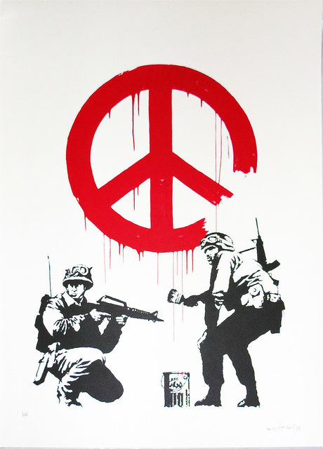 Banksy, 'CND Soldiers', 2005, Pop Fine Art