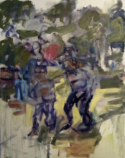 , 'Batting Practice,' 2014, Stuart & Co. Gallery