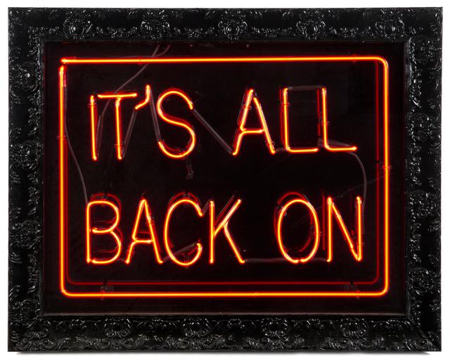 Jason Alper, 'It'S All Back On', 2013, Julien's Auctions