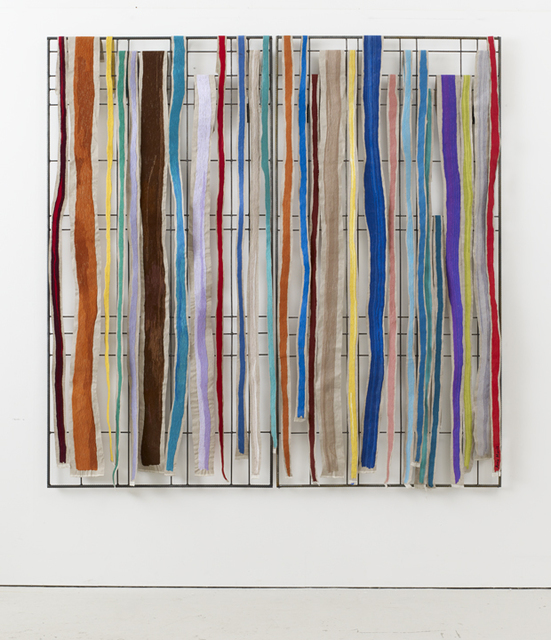 , 'Grid 25, Cadmium Orange ,' 2017, Winston Wächter Fine Art