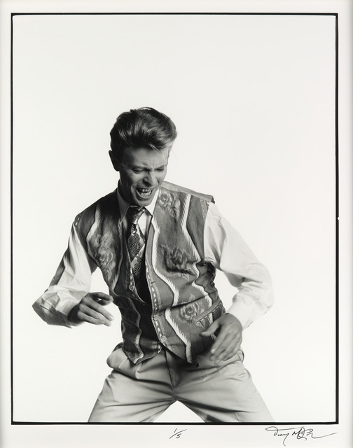 , 'David Dances to the Music in Tony McGee's Studio,' 1990, Imitate Modern
