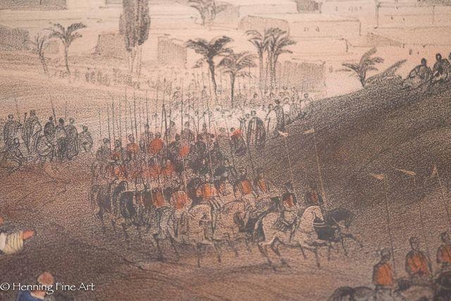 David Roberts, 'Gaza, March 21st 1839', 1839, Print, Lithograph, Henning Fine Art