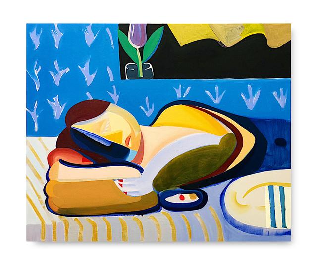 , 'Girl Sleeping,' 2018, V1 Gallery