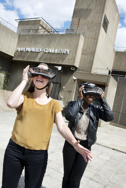 , 'Upside-Down Goggles,' 2015, Hayward Gallery at Southbank Centre