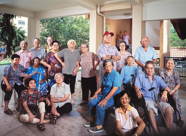 Jing Quek, 'Singapore Idols – Aunties & Uncles', 2006, Singapore Art Museum (SAM)