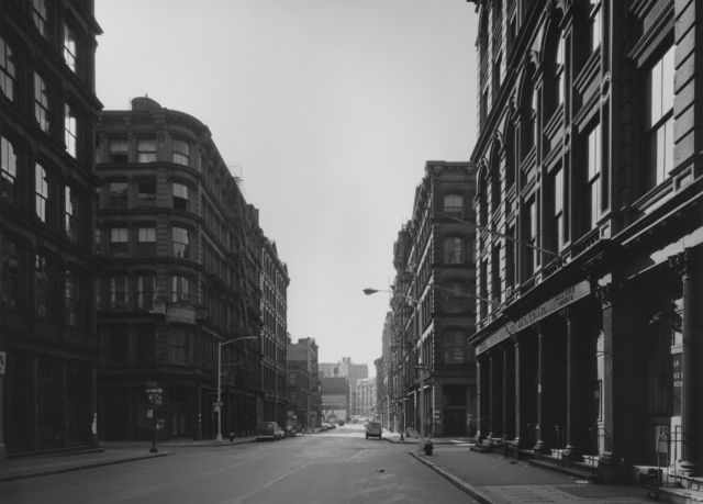 Bevan Davies, 'West Broome Street, NY', 1976, Photography, Vintage ferrotyped gelatin silver print, Joseph Bellows Gallery