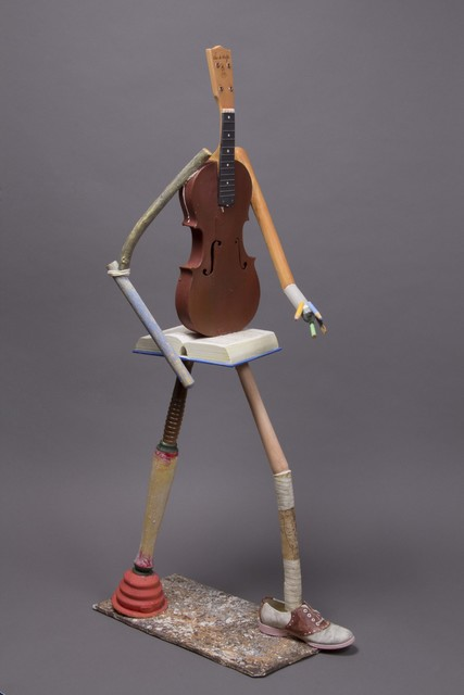 , 'Walking Musician,' 2013, Anglim Gilbert Gallery