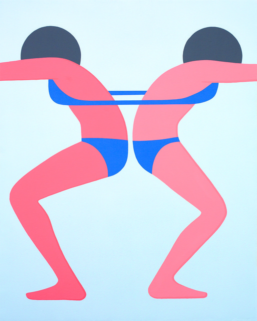 , 'Continuous Girls,' 2014, V1 Gallery